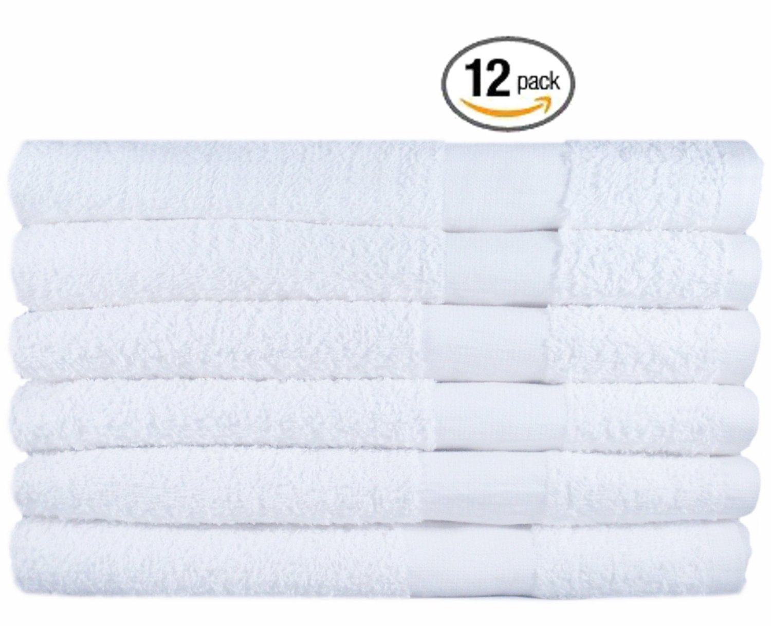 Hotel-Spa Commercial Cotton Hair Bath Towel -12-Pack, White, Maximum Softness and Absorbency (20″ x 40″) by Utopia Towel review